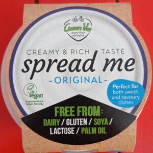Crema untable Green Vie tipo queso original